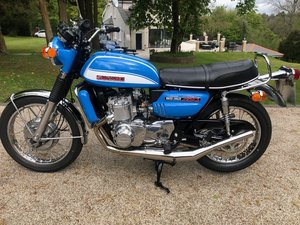 1972 GT750J Mint restored bike. SOLD