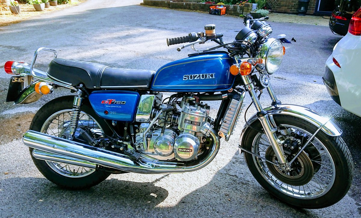 """1975 GT750A """"Fully Restored UK Bike"""" SOLD (picture 1 of 6)"""