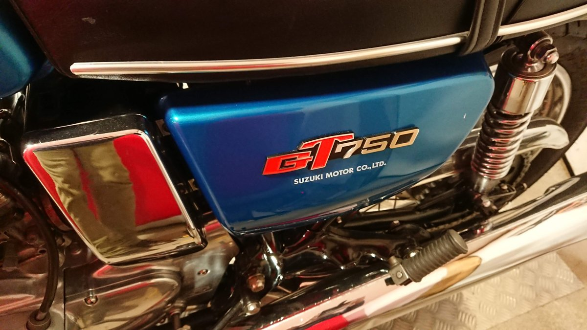"""1975 GT750A """"Fully Restored UK Bike"""" SOLD (picture 3 of 6)"""