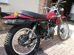 1980 Suzuki SP 400 big trail bike
