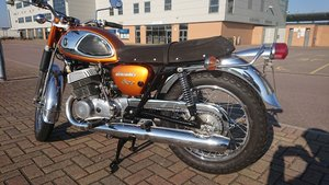 Rare 1968 Suzuki Cobra T500, very original, taxed
