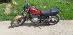 1988 Late 80's Suzuki GN250 Project Bike