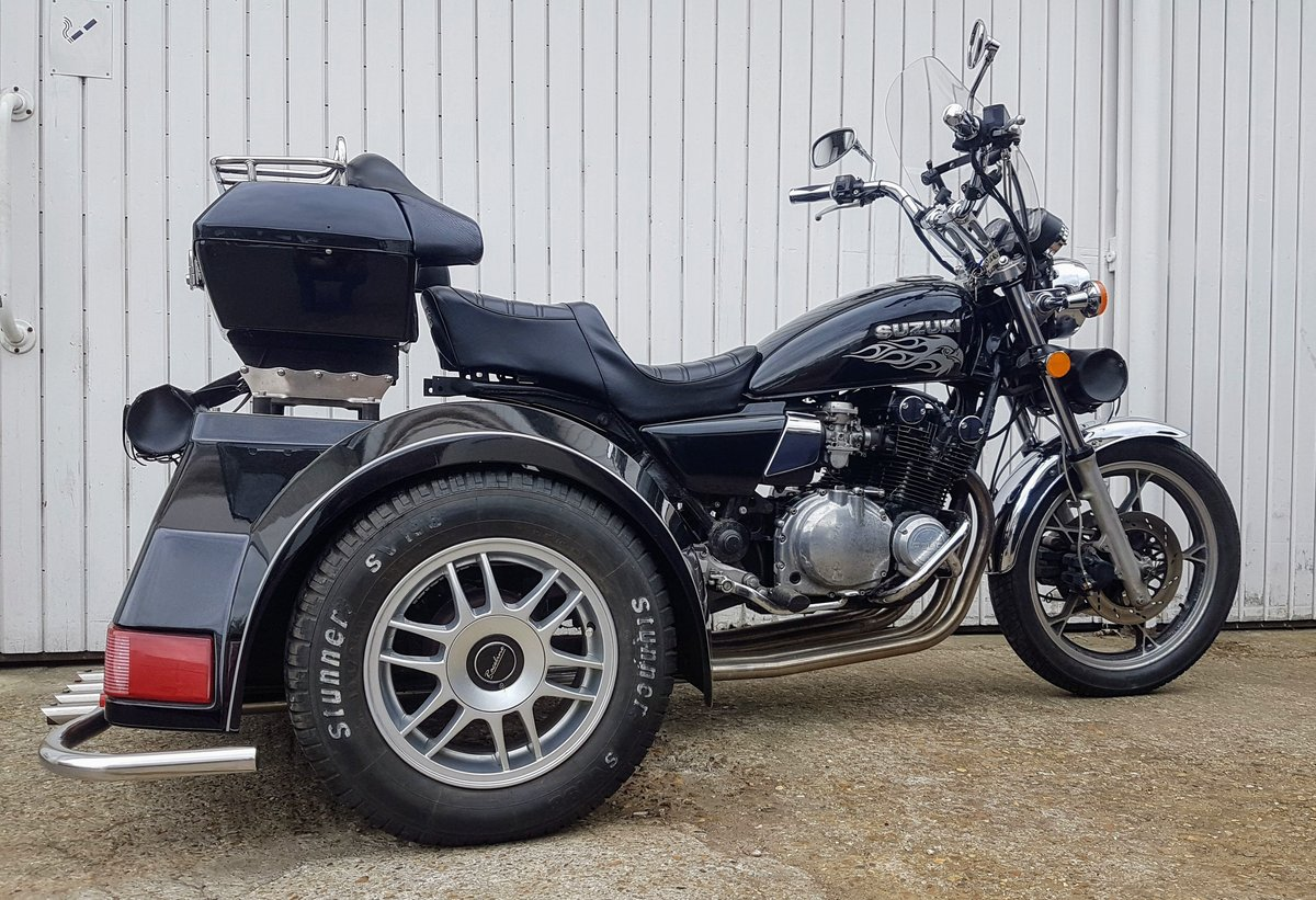 1980 Suzuki GS850 Trike Low Miles Tested with Video  For Sale (picture 4 of 6)