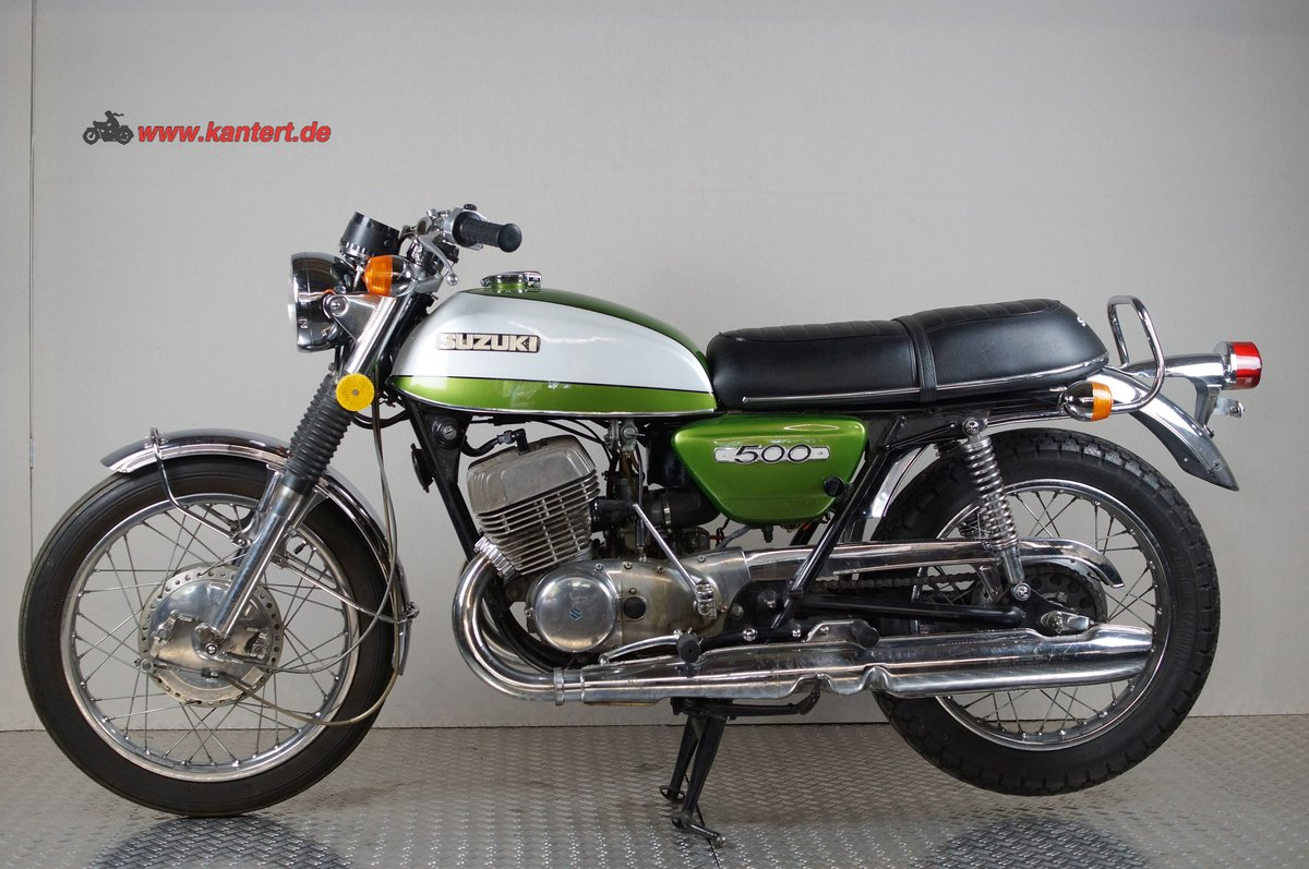 1972 Suzuki T 500, 492 cc, 47 hp For Sale (picture 1 of 6)