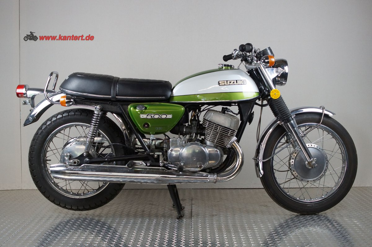 1972 Suzuki T 500, 492 cc, 47 hp For Sale (picture 2 of 6)