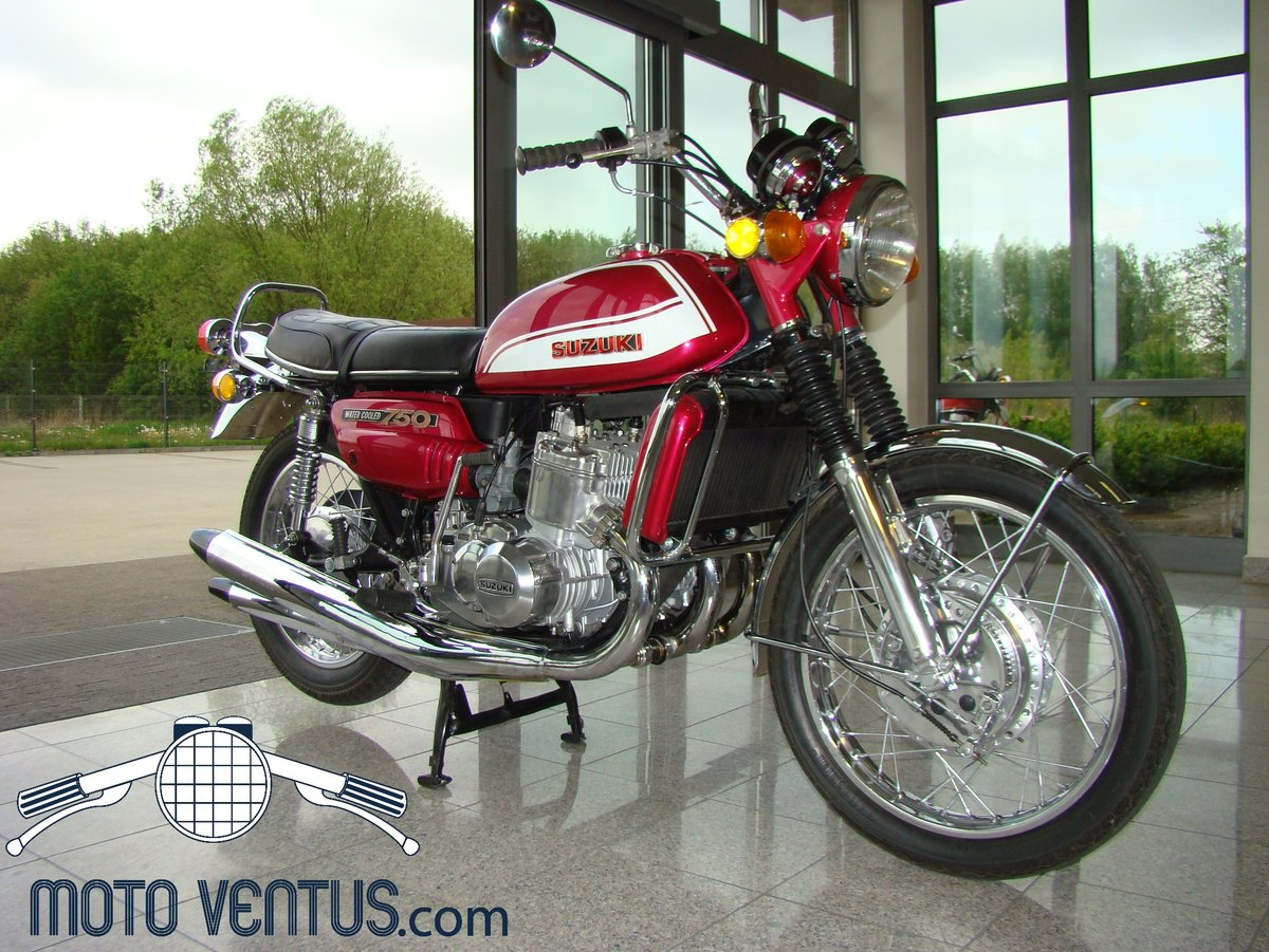 SUZUKI GT 750 J 1972 VIDEO ! For Sale (picture 1 of 6)