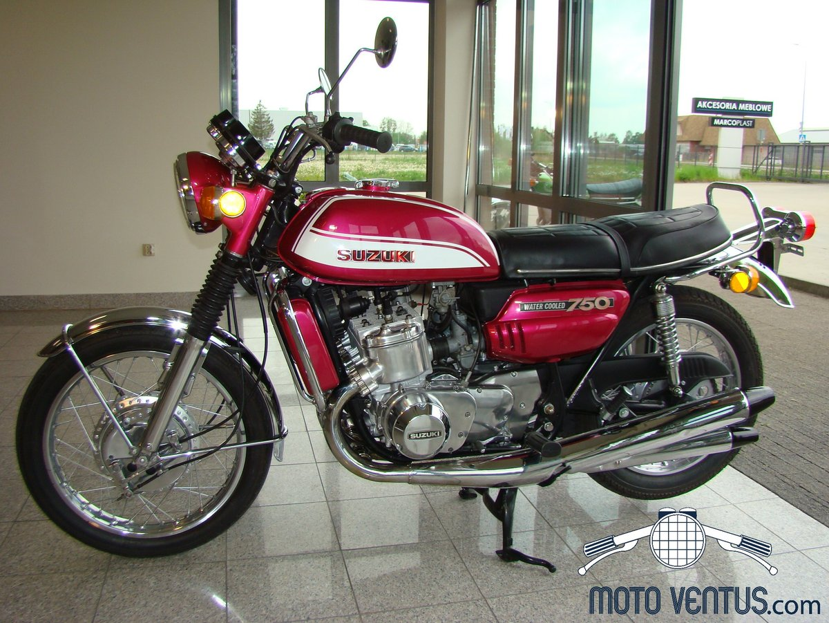SUZUKI GT 750 J 1972 VIDEO ! For Sale (picture 2 of 6)