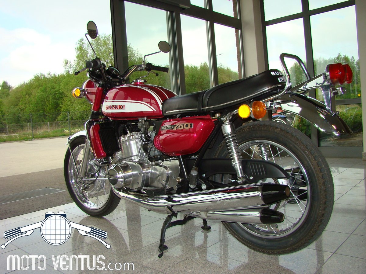 SUZUKI GT 750 J 1972 VIDEO ! For Sale (picture 3 of 6)
