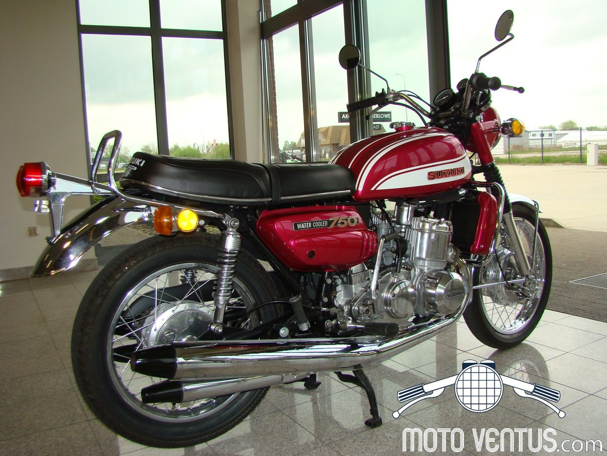 SUZUKI GT 750 J 1972 VIDEO ! For Sale (picture 4 of 6)