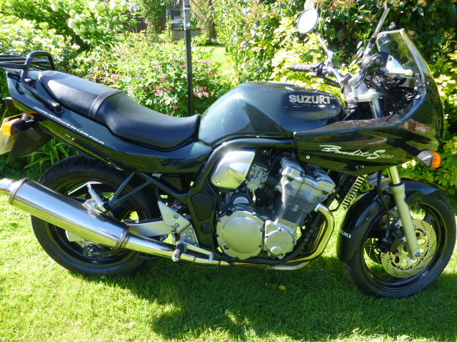 1995 suzuki gsf600 bandit only 7000 miles! For Sale (picture 1 of 5)