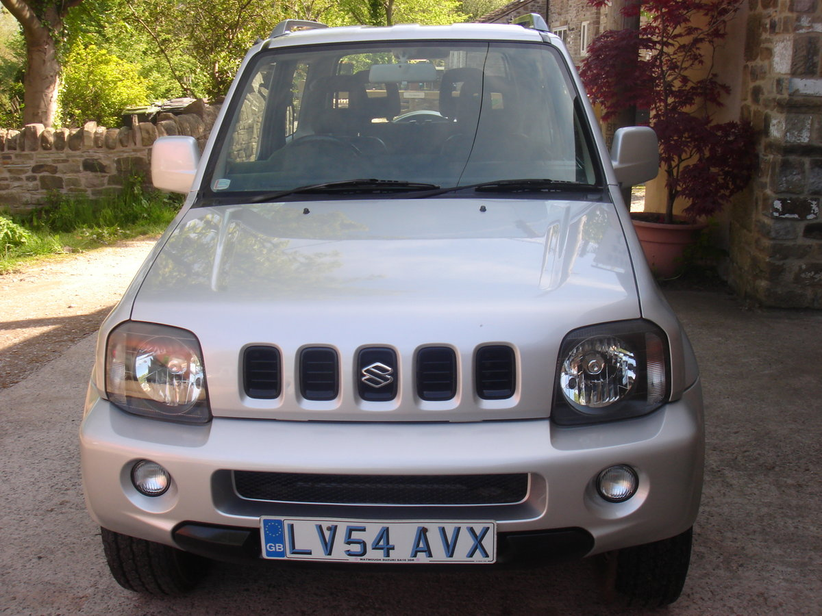2004 54 SUZUKI JIMNY 1.3 MODE 53689 MILES. 4X4. SUPERB. For Sale (picture 3 of 6)