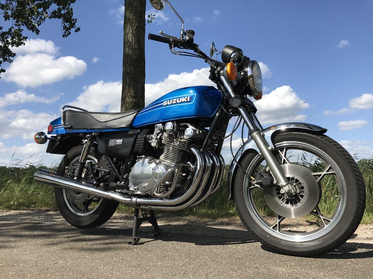 Suzuki GS1000E 1979 for sale For Sale (picture 1 of 6)