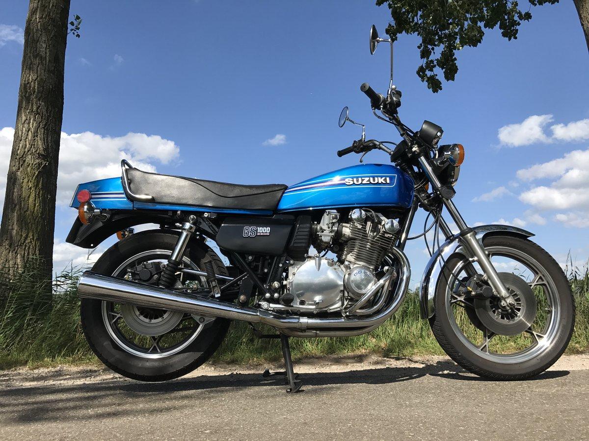 Suzuki GS1000E 1979 for sale For Sale (picture 5 of 6)