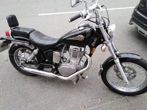 1998 Suzuki 650 Savage big single