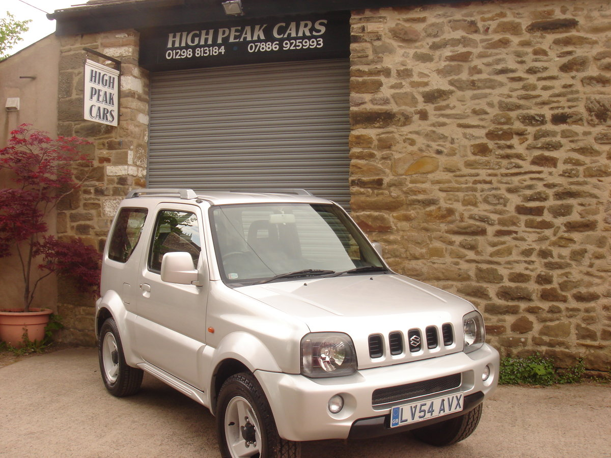 2004 54 SUZUKI JIMNY 1.3 MODE 53689 MILES. 4X4. SUPERB. For Sale (picture 1 of 6)