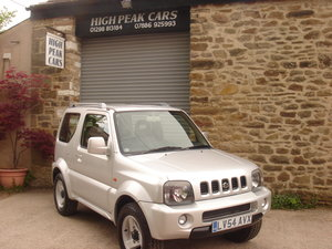 2004 54 SUZUKI JIMNY 1.3 MODE 53689 MILES. 4X4. SUPERB. For Sale