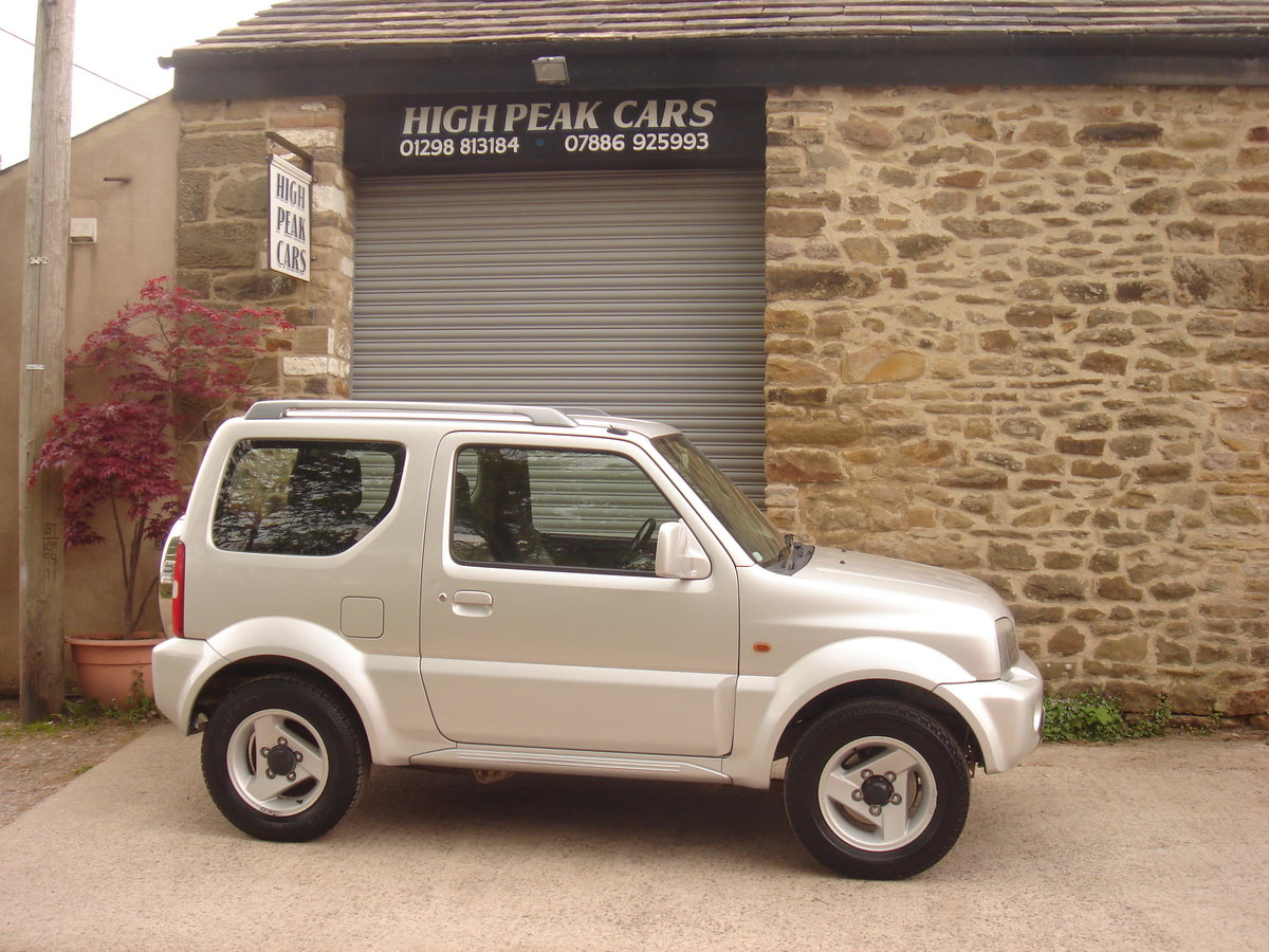 2004 54 SUZUKI JIMNY 1.3 MODE 53689 MILES. 4X4. SUPERB. For Sale (picture 5 of 6)