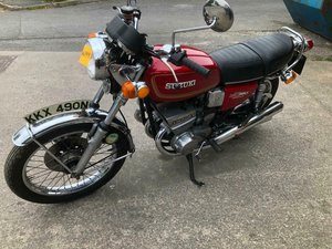 1975 SUZUKI 380GT RAM AIR For Sale