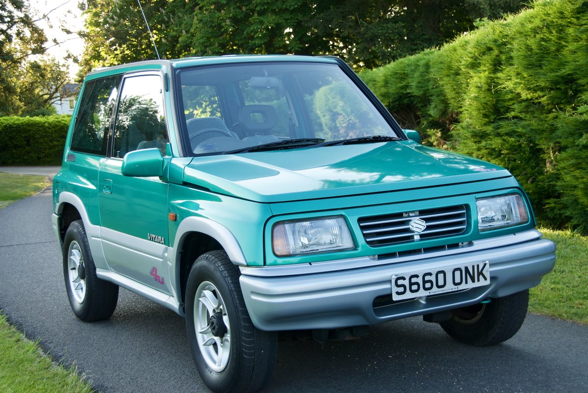 1998 Suzuki Vitara 17k miles One Lady Owner For Sale (picture 1 of 6)