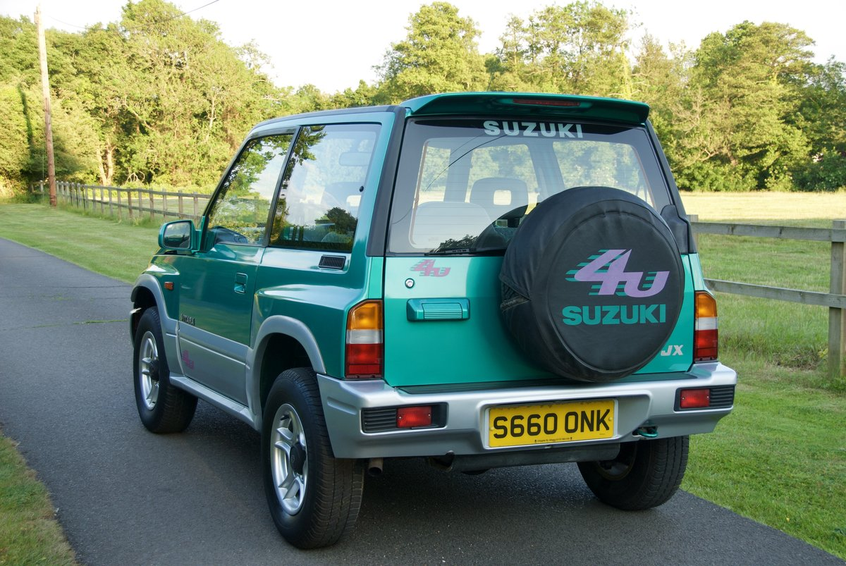 1998 Suzuki Vitara 17k miles One Lady Owner For Sale (picture 2 of 6)