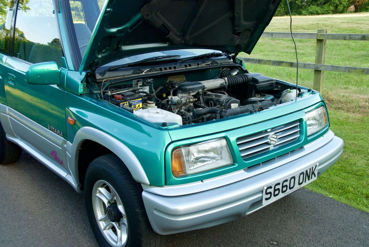 1998 Suzuki Vitara 17k miles One Lady Owner For Sale (picture 6 of 6)
