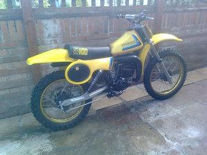 1979 suzuki rm 100 For Sale