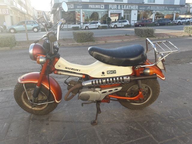 Suzuki RV 50 year 1972, only 3.900km. For Sale (picture 1 of 6)