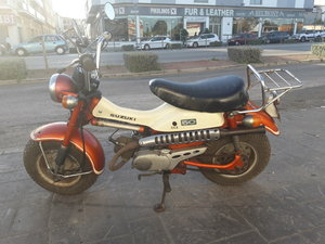 Suzuki RV 50 year 1972, only 3.900km. For Sale