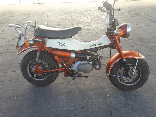Suzuki RV 50 year 1972, only 3.900km. For Sale (picture 2 of 6)