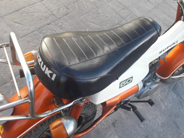 Suzuki RV 50 year 1972, only 3.900km. For Sale (picture 5 of 6)