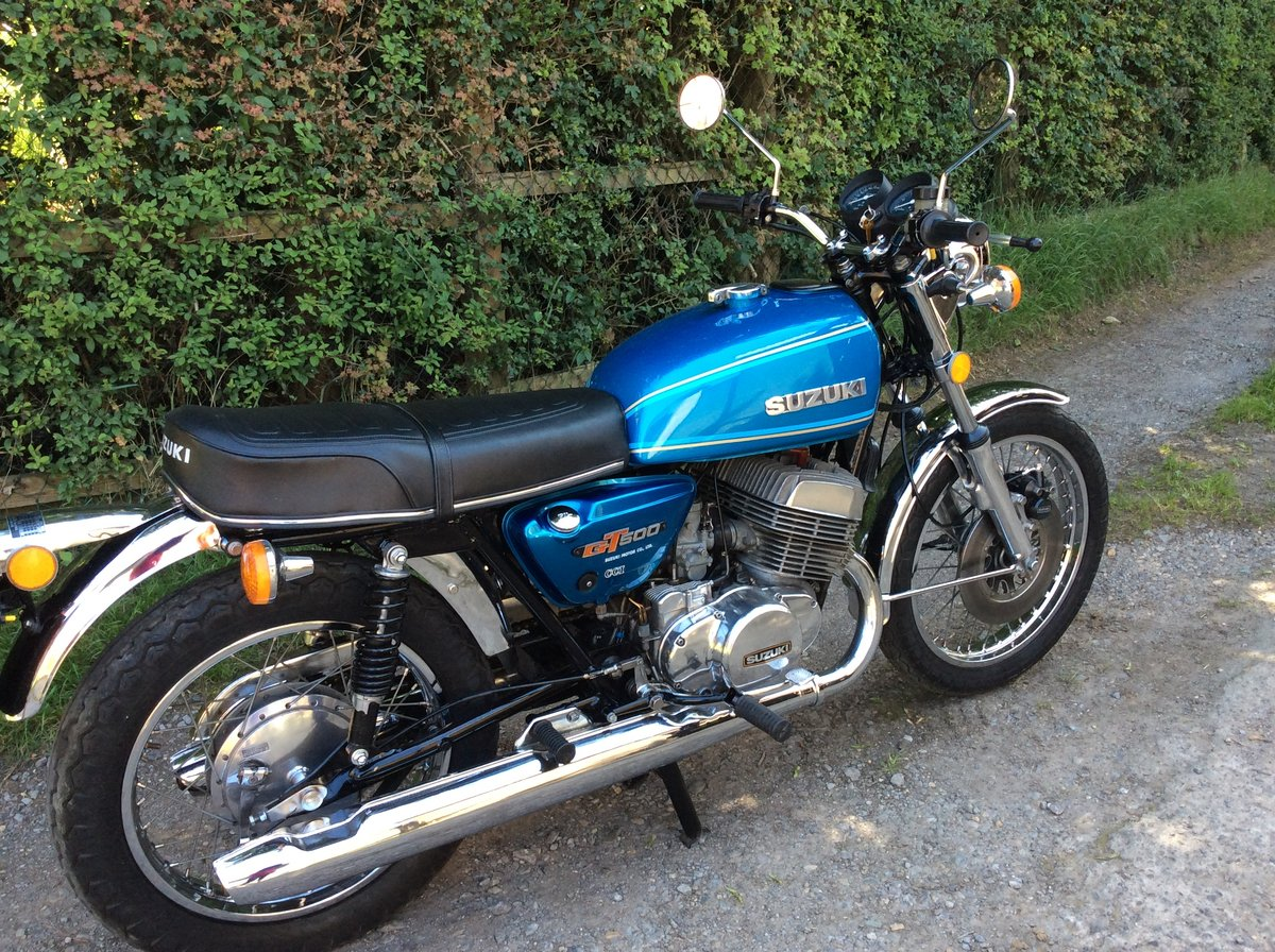 Suzuki GT500 A Model 1977  For Sale (picture 1 of 6)