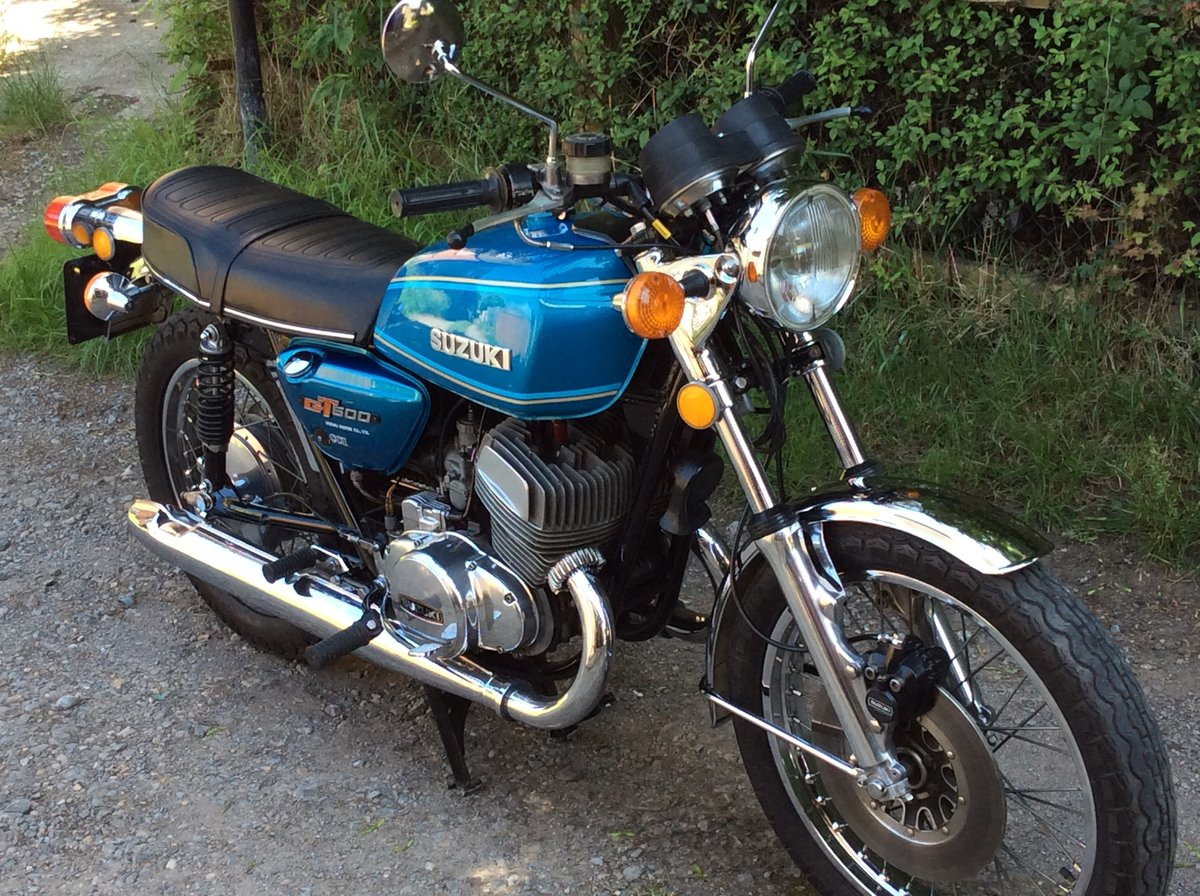 Suzuki GT500 A Model 1977  For Sale (picture 4 of 6)