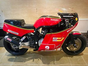 SUZUKI XR69 JOEY DUNLOP RECREATION - POSS PX SOLD