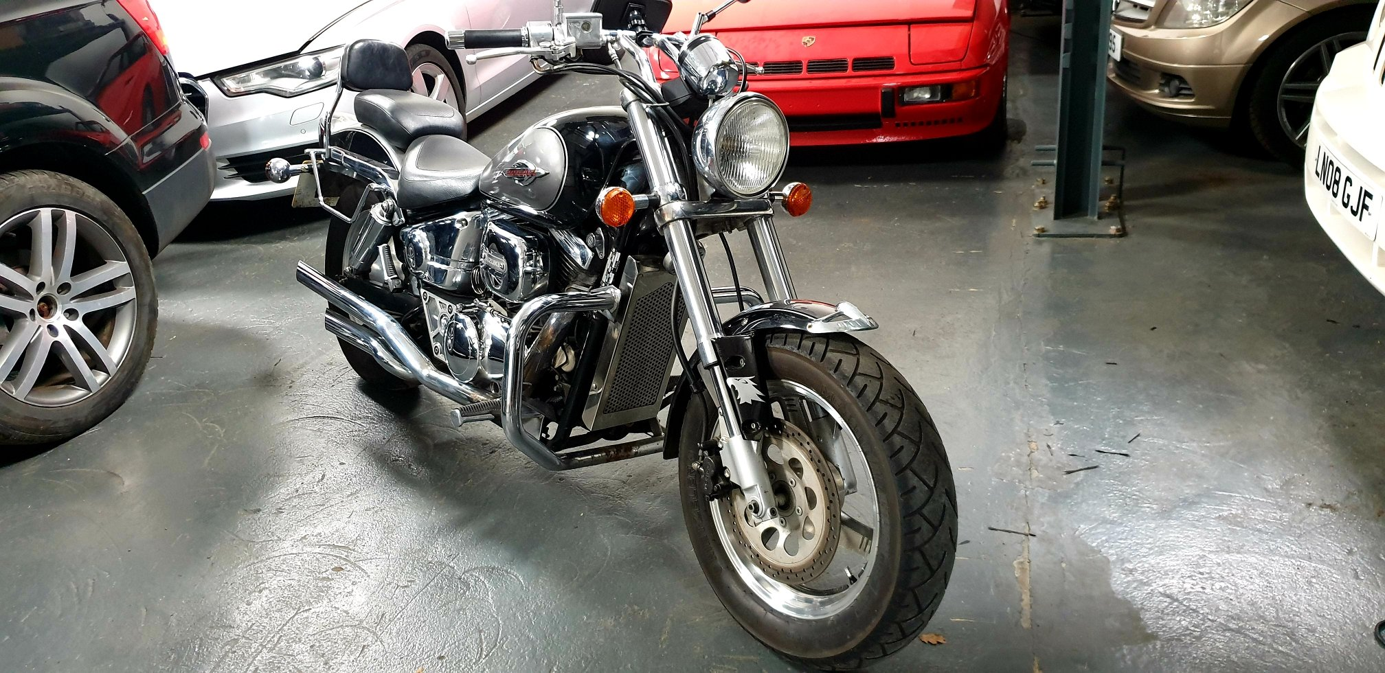 1999 SUZUKI VZ800 MARAUDER ONE OFF CUSTOM !!! For Sale (picture 2 of 6)