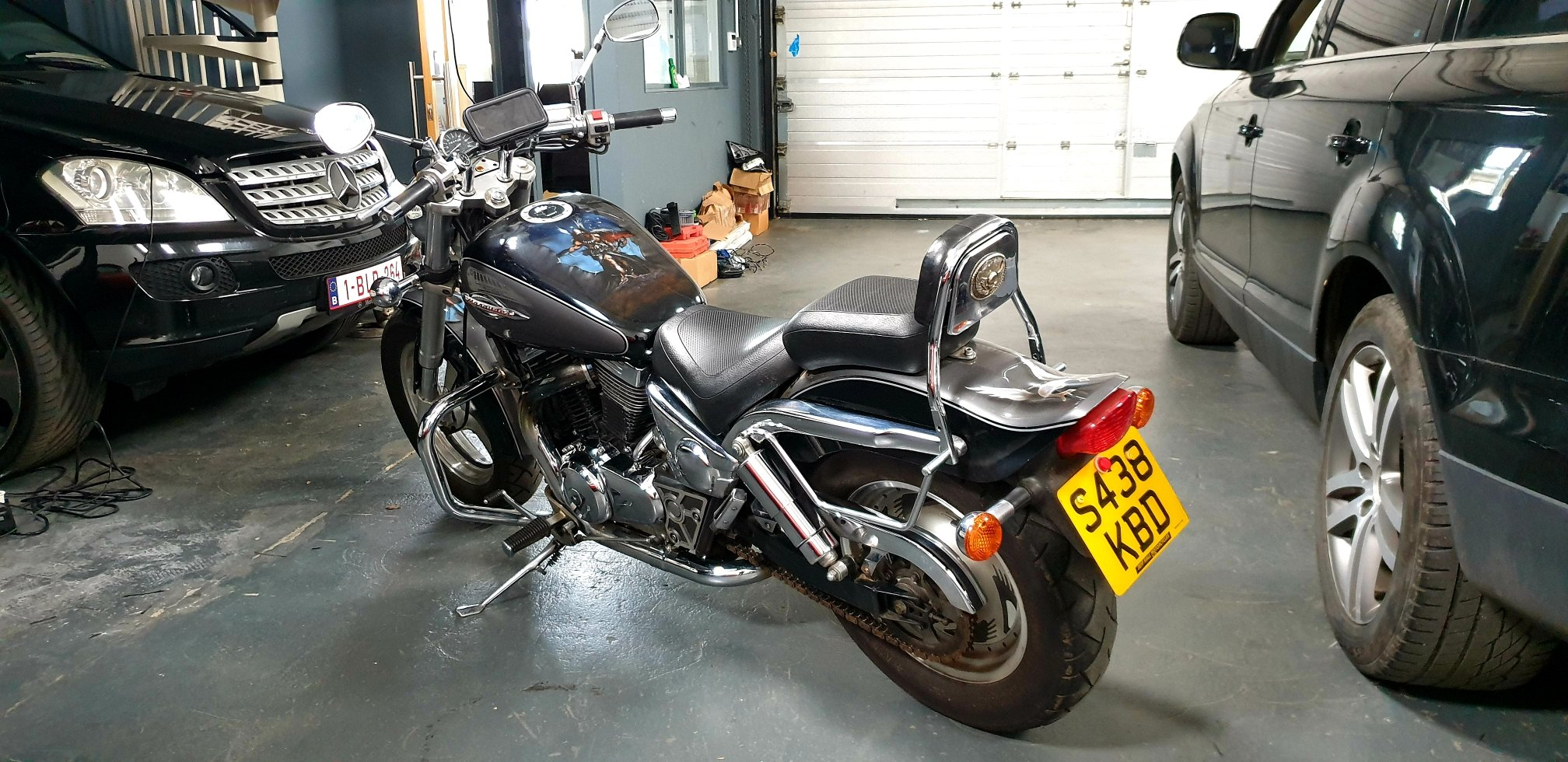 1999 SUZUKI VZ800 MARAUDER ONE OFF CUSTOM !!! For Sale (picture 3 of 6)