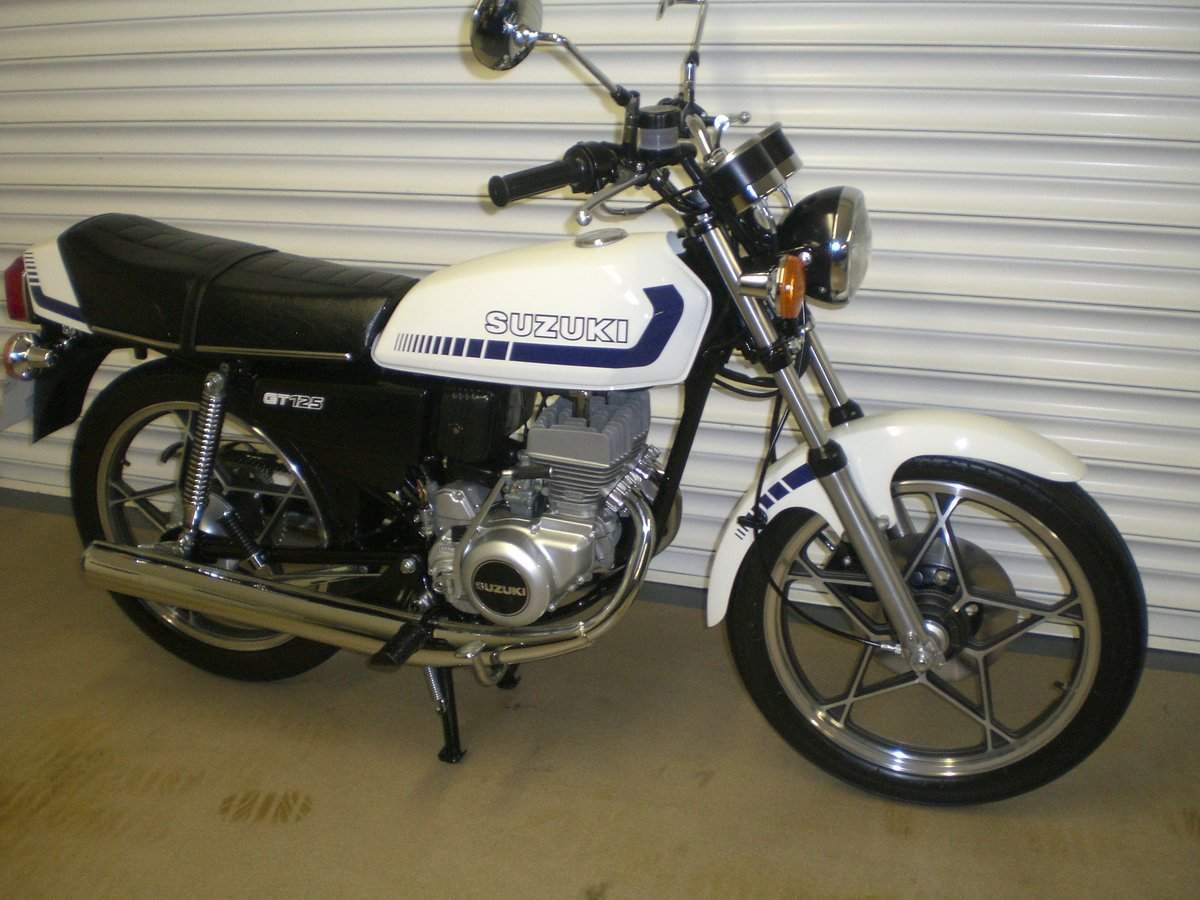 1981 Beautiful example of gt125c SOLD (picture 1 of 6)