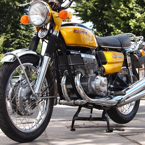 1972 Rare GT550 J Stunning Example, Genuine UK Bike. For Sale (picture 1 of 6)
