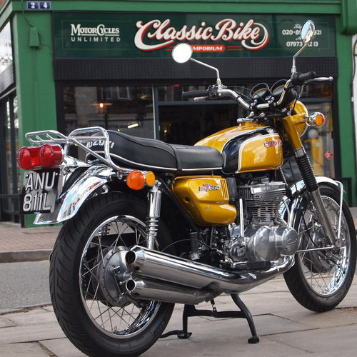 1972 Rare GT550 J Stunning Example, Genuine UK Bike. For Sale (picture 2 of 6)
