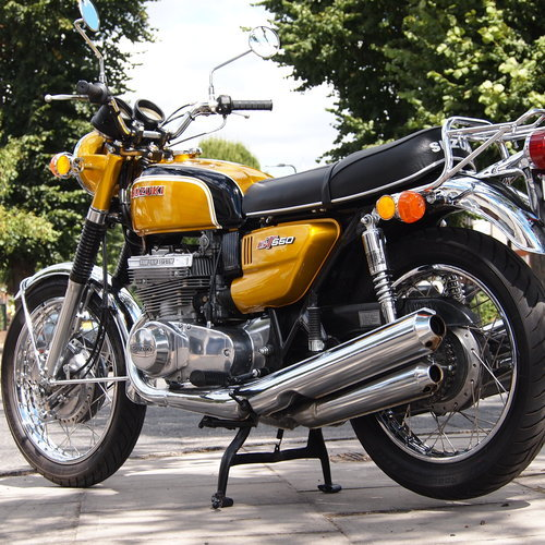 1972 Rare GT550 J Stunning Example, Genuine UK Bike. For Sale (picture 3 of 6)