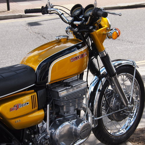 1972 Rare GT550 J Stunning Example, Genuine UK Bike. For Sale (picture 5 of 6)