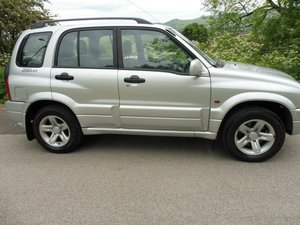 2002 SUZUKI GRAND VITARA FIVE DOOR 2 LTR PETROL 4X4