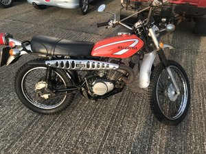 1976 classic Suzuki TS185 UK BIKE-GENUINE UNRESTORED For Sale