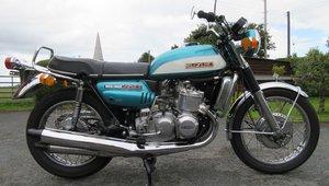 1972 Suzuki gt750j drum rare drum brake cone exhaust. For Sale