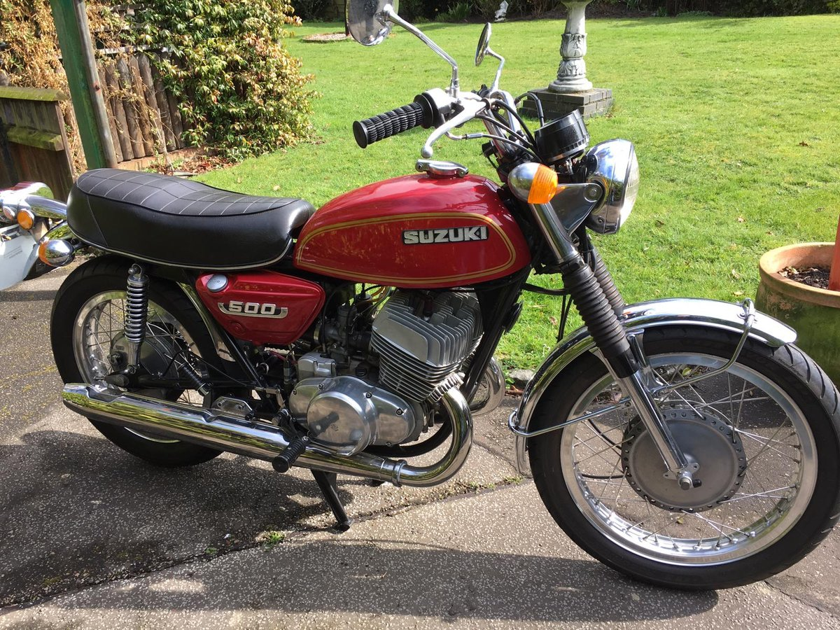 1975 Suzuki T500 For Sale (picture 1 of 2)