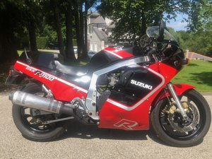 1987 GSXR1100H Original UK bike superb SOLD