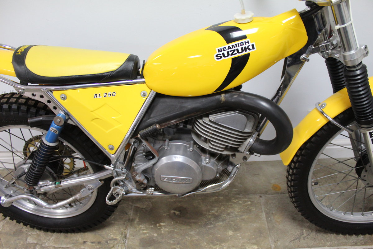 c1977 Suzuki Beamish RL 250 cc Trials Bike  Lovely straight  For Sale (picture 3 of 6)
