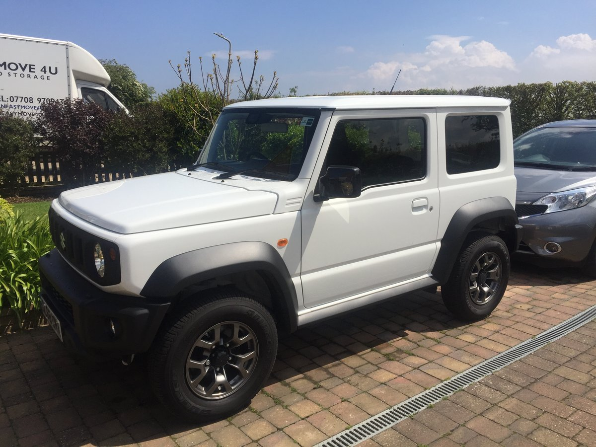2019 Suzuki Jimny SZ5 Manual 1 Owner SOLD (picture 1 of 2)