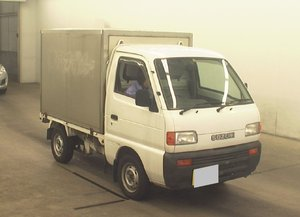 1998 SUZUKI CARRY TRUCK 660CC 4X4 DIFF LOCK PICKUP REAR CARGO BOX For Sale