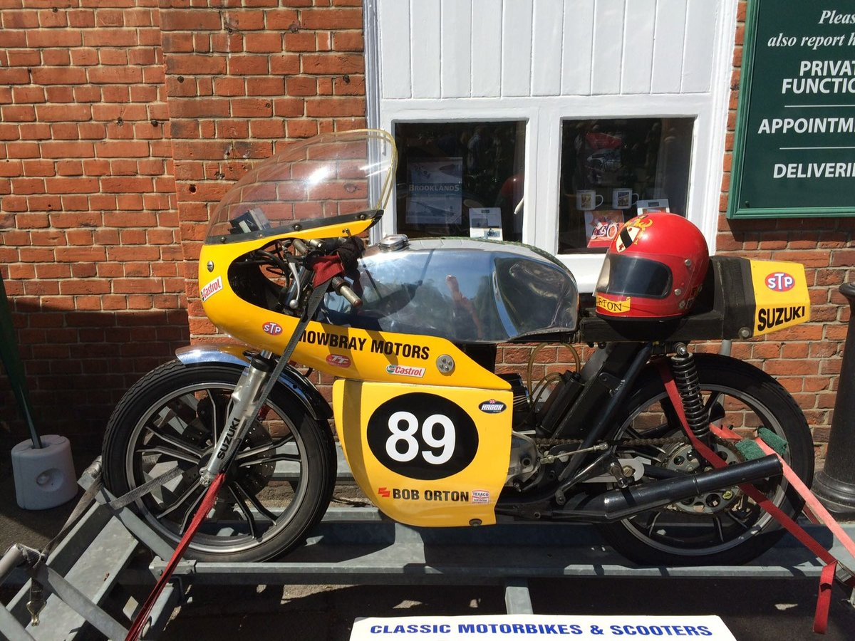 1973 SUZUKI GT 250 classic racer  For Sale (picture 1 of 3)