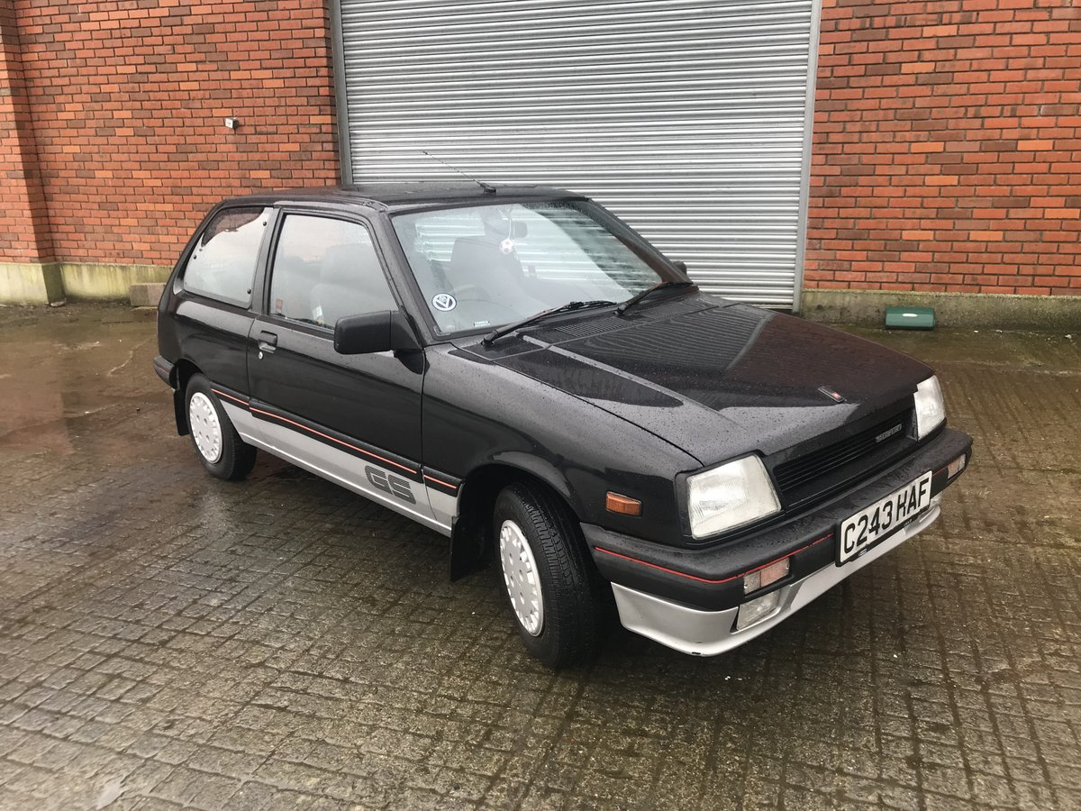 1986 Suzuki Swift 28 k miles For Sale (picture 1 of 6)